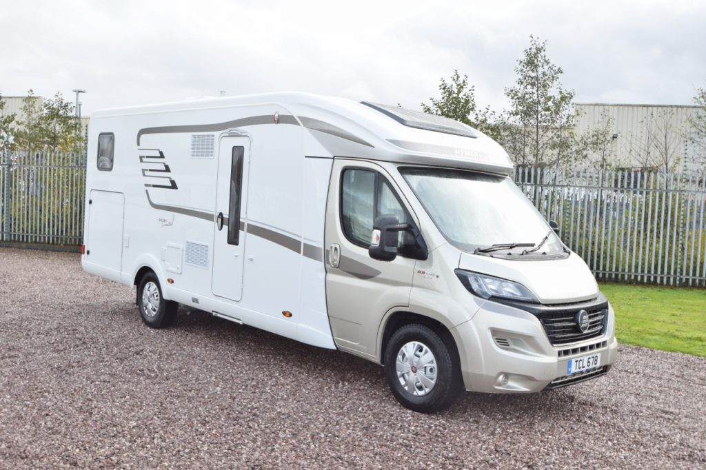 Hymer TCL 678 side